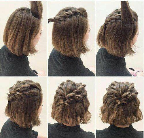 بالصور تسريحات سهله , فورمة شعر انيقة جدا وبدون الذهاب لصالون التجميل 2458 7