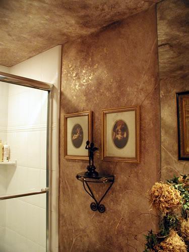 بالصور ديكور حوائط , احدث صيحات الدهانات والحوائط الحجرية والجبس وورق الجدران لديكور منزلك 594 12