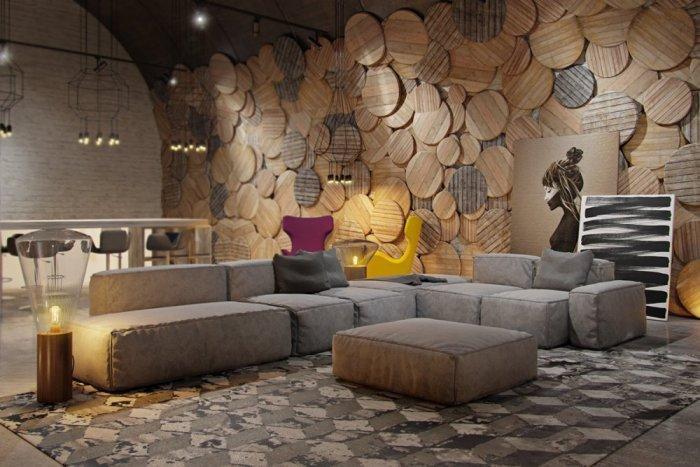 بالصور ديكور حوائط , احدث صيحات الدهانات والحوائط الحجرية والجبس وورق الجدران لديكور منزلك 594 3