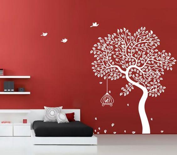 بالصور ديكور حوائط , احدث صيحات الدهانات والحوائط الحجرية والجبس وورق الجدران لديكور منزلك 594 5