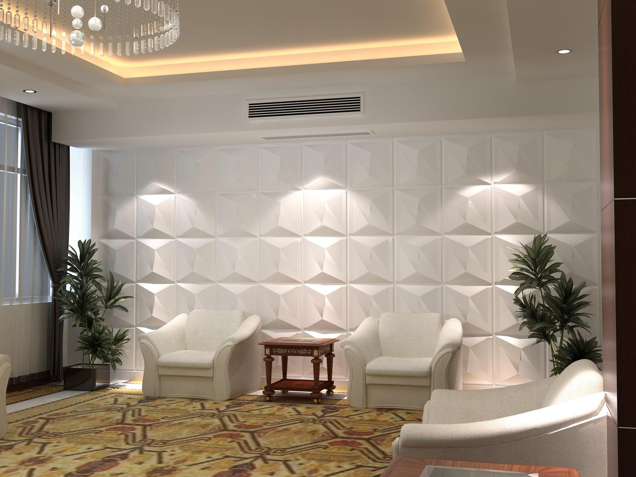 بالصور ديكور حوائط , احدث صيحات الدهانات والحوائط الحجرية والجبس وورق الجدران لديكور منزلك 594 7