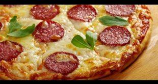 طريقة عمل البيتزا في المنزل , اجمل بيتزا ستتذوقها فى حياتك