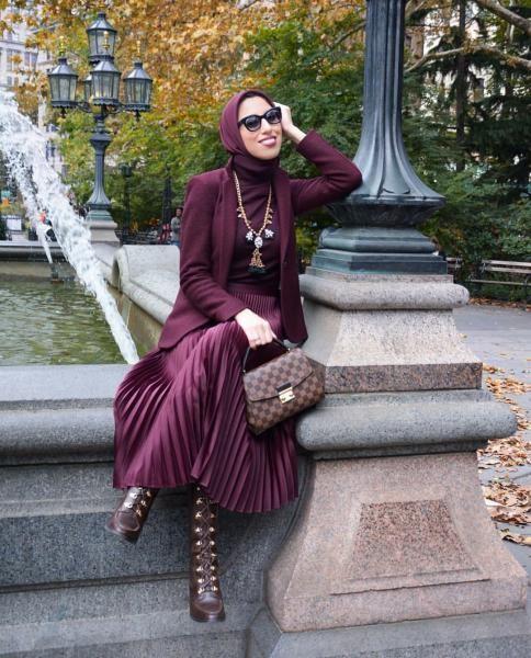 بالصور ملابس تركيه للمحجبات , اشيك اللوكات التركية 13398 10