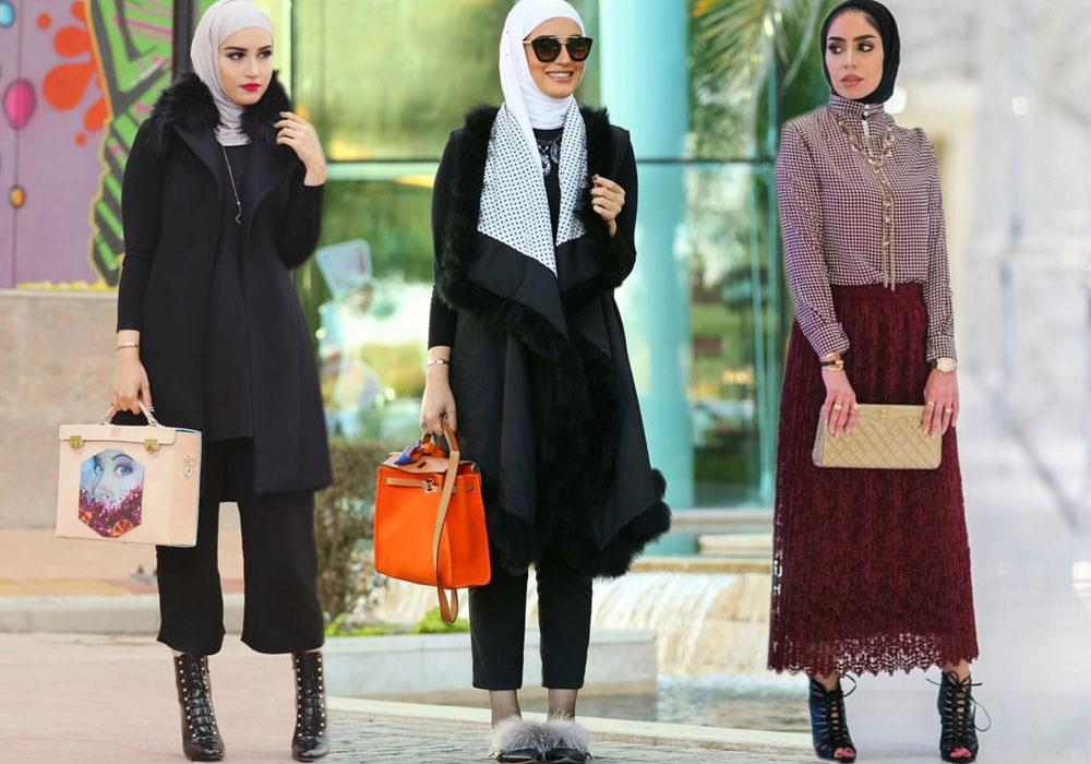 بالصور ملابس تركيه للمحجبات , اشيك اللوكات التركية 13398 9