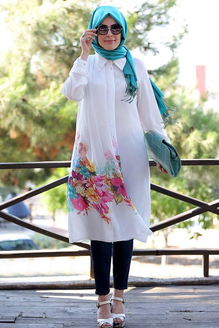 بالصور ملابس صيفية للمحجبات , الصيف فصل التالق 13412 11