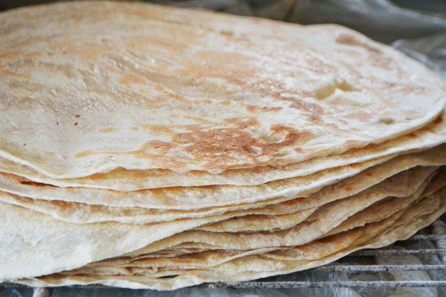 صورة طريقة خبز الصاج , احلى خبز ستتذوقه فى حياتك