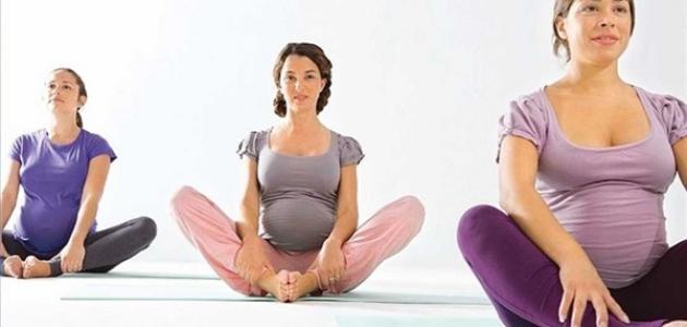صور تمارين رياضية للحامل لتخفيف الوزن , لن تزيدى فى الوزن وانتى حامل