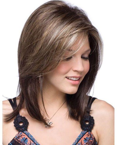 صور افضل تسريحة للشعر الخفيف , تسريحات الشعر الخفيف الجميلة