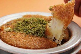 نتيجة بحث الصور عن كنافة تركي بالجبن