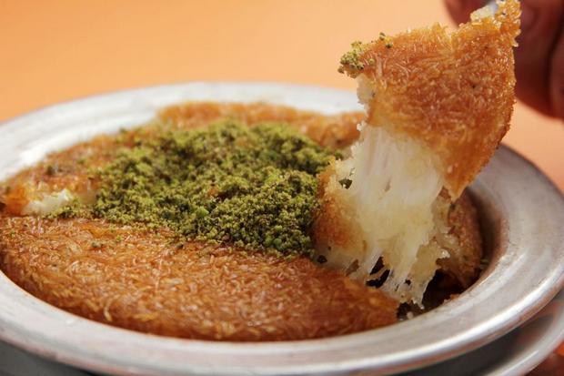 بالصور كنافة تركية , وصفة شهية ولذيذة لعمل الكنافة التركي بالجبن 1383