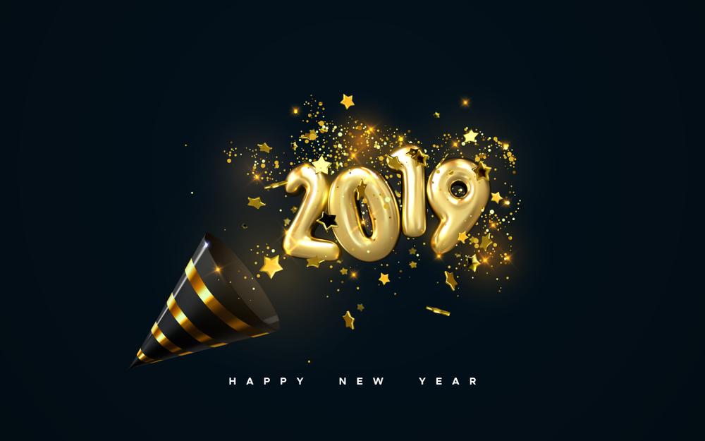 بالصور تهاني العام الجديد 2019 , مباركات السنة الجديدة 13847 1