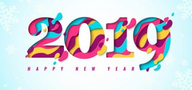 صور تهاني العام الجديد 2019 , مباركات السنة الجديدة