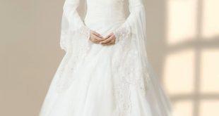 فساتين افراح , الريش والفيونكات احدث صيحات الموضة في عالم فساتين الزفاف