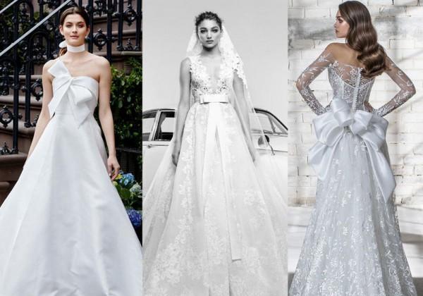 بالصور فساتين افراح , الريش والفيونكات احدث صيحات الموضة في عالم فساتين الزفاف 476 5