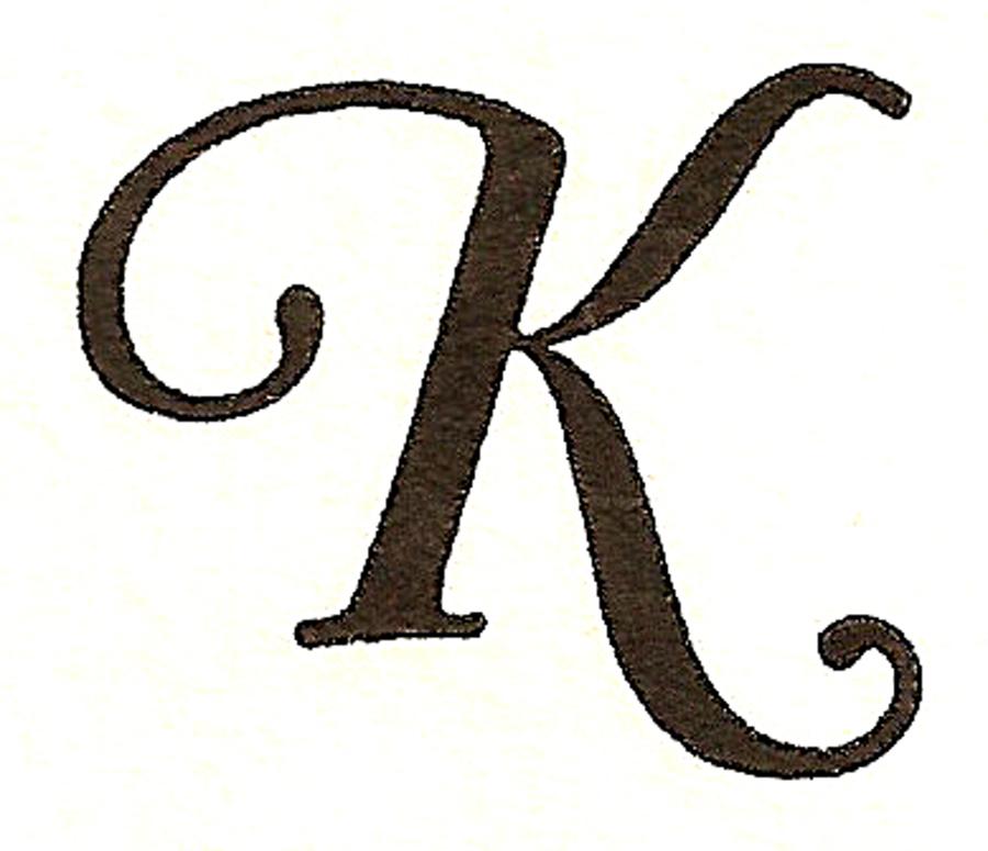 بالصور صور حرف k , تصاميم لحرف k بشكل مرح وجذاب 532 9