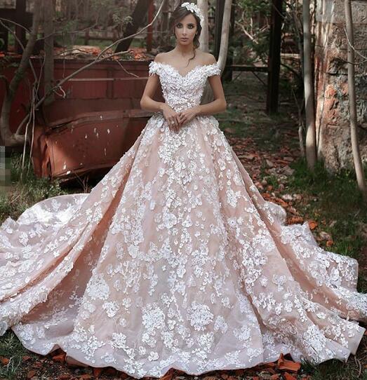بالصور صور فساتين عروس , اختارى فستان الزفاف الاقرب لقلبك وشخصيتك 1349 10