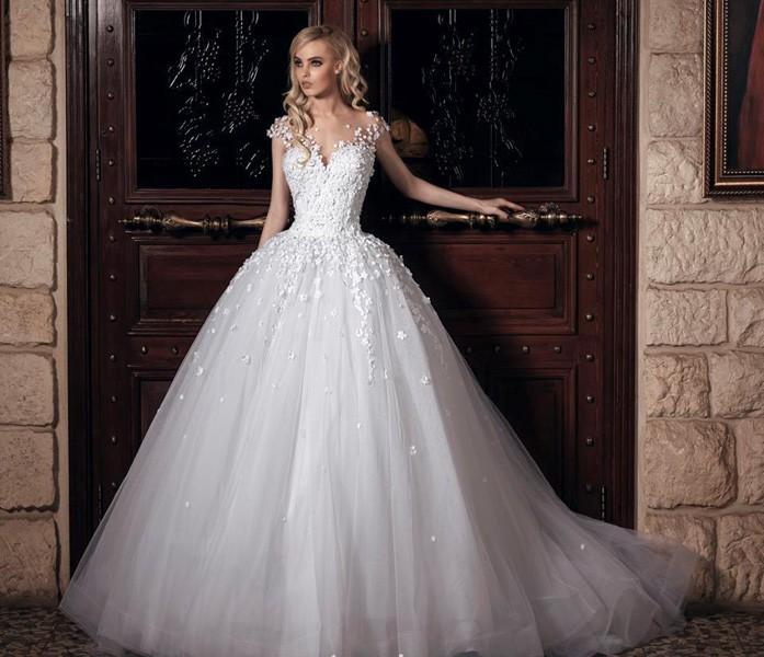 بالصور صور فساتين عروس , اختارى فستان الزفاف الاقرب لقلبك وشخصيتك 1349 11