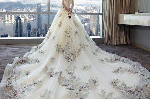 صورة صور فساتين عروس , اختارى فستان الزفاف الاقرب لقلبك وشخصيتك