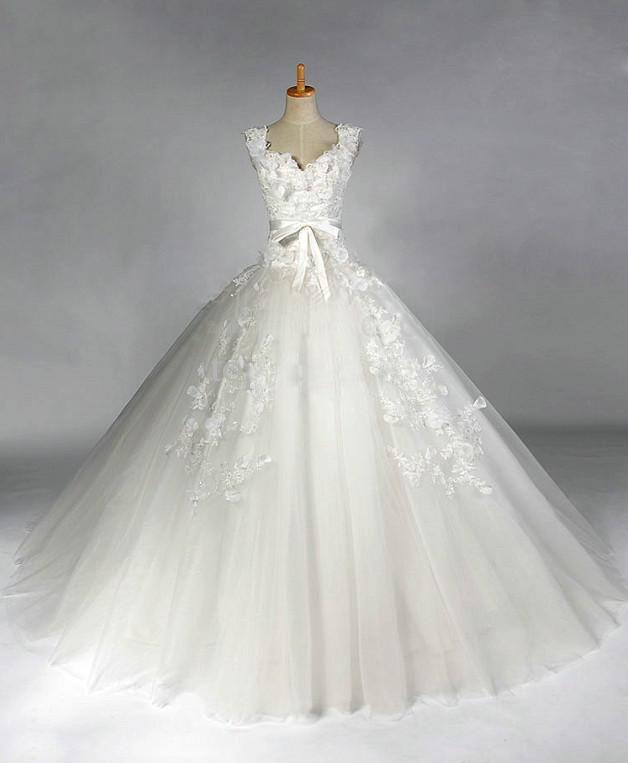 بالصور صور فساتين عروس , اختارى فستان الزفاف الاقرب لقلبك وشخصيتك 1349 2