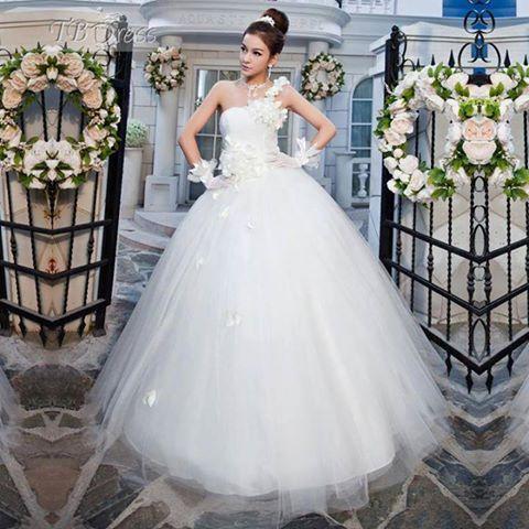 بالصور صور فساتين عروس , اختارى فستان الزفاف الاقرب لقلبك وشخصيتك 1349 3