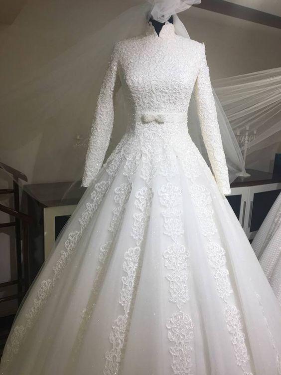 بالصور صور فساتين عروس , اختارى فستان الزفاف الاقرب لقلبك وشخصيتك 1349 5
