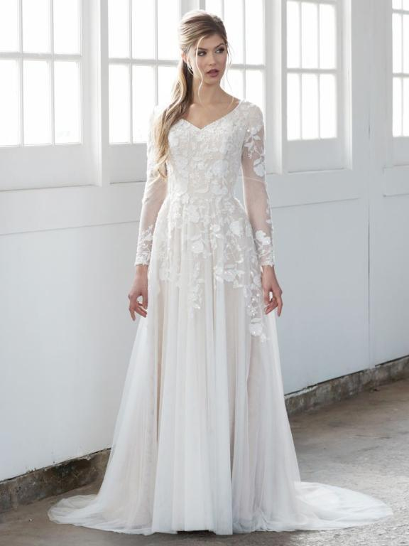 بالصور صور فساتين عروس , اختارى فستان الزفاف الاقرب لقلبك وشخصيتك 1349 7