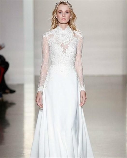 بالصور صور فساتين عروس , اختارى فستان الزفاف الاقرب لقلبك وشخصيتك 1349 8