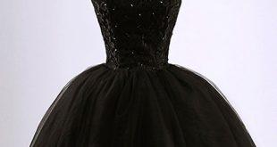 بالصور فساتين قصيره سودا , احلى الفساتين المميزة 13511 12 310x165