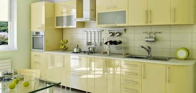 صورة افضل لون للمطبخ , اجدد موضة فى الوان المطبخ