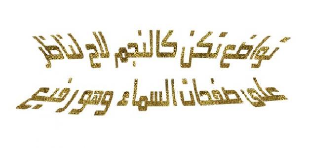 بالصور امثلة عن التواضع , من تواضع من اجل الله رفعه درجات 13574 6
