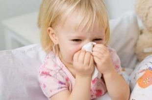 صورة علاج نزلات البرد للاطفال , احمى طفلك من نزلات البرد