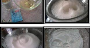 صور طريقة عمل الميرانغ بالصور , وصفة عمل حلوي الميرانغ