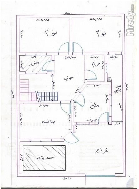 بالصور رسم هندسى لقطعة ارض 150 متر , افضل الرسومات الهندسية 13642 8
