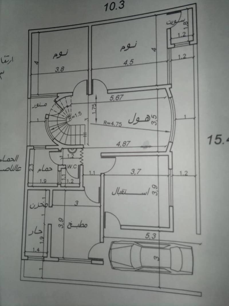 بالصور رسم هندسى لقطعة ارض 150 متر , افضل الرسومات الهندسية 13642 9