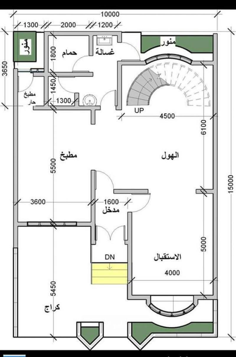 صور رسم هندسى لقطعة ارض 150 متر , افضل الرسومات الهندسية