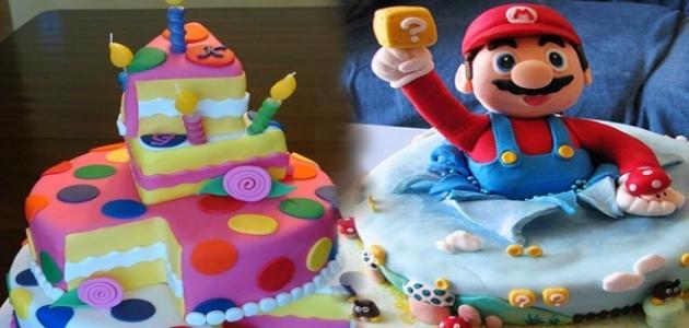صورة صور كيك عيد ميلاد اطفال , كل عام وانت طيب يا صغيرى 13669 8