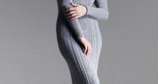 صور اجمل فساتين شتوية , اجدد موديلات الملابس الشتوية