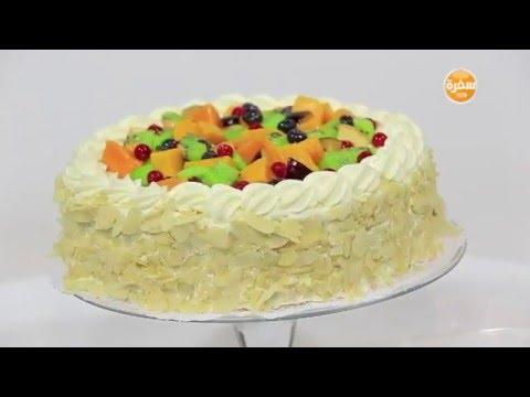 بالصور طريقة عمل الكيكة الاسفنجية سالي فؤاد , خطوات سهلة للكيك الاسفنجي 13747 10