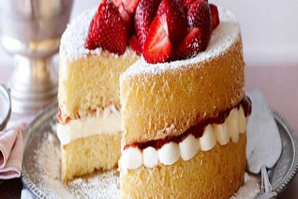 بالصور طريقة عمل الكيكة الاسفنجية سالي فؤاد , خطوات سهلة للكيك الاسفنجي 13747 11
