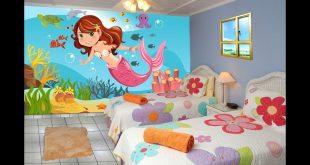 صور رسومات جدران للاطفال , حوائط كرتون للاطفال