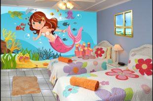 صورة رسومات جدران للاطفال , حوائط كرتون للاطفال