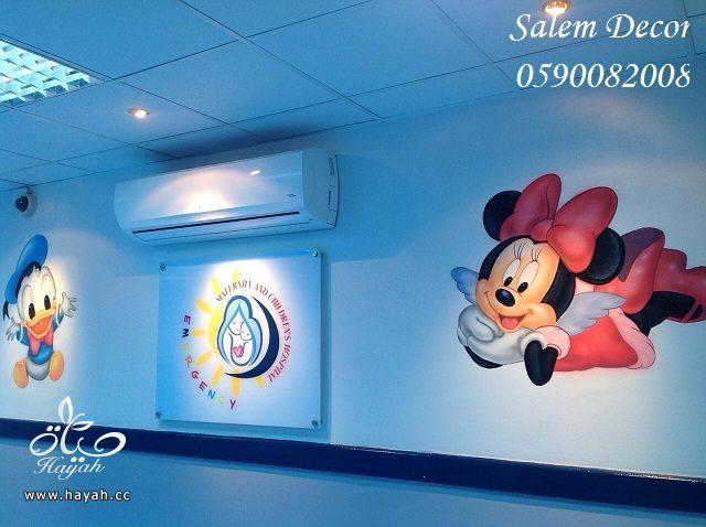 بالصور رسومات جدران للاطفال , حوائط كرتون للاطفال 13754 2