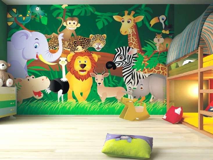 بالصور رسومات جدران للاطفال , حوائط كرتون للاطفال 13754 8