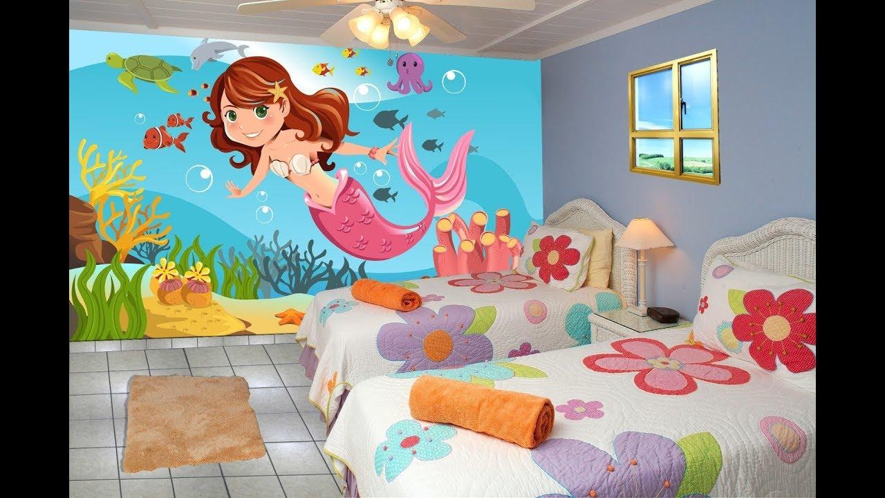 بالصور رسومات جدران للاطفال , حوائط كرتون للاطفال 13754
