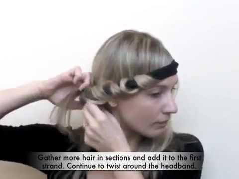 بالصور لف الشعر بالقصدير , كيف اجعل شعرى مموج 13842 6