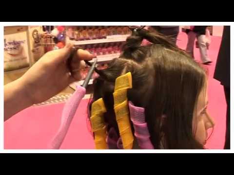 بالصور لف الشعر بالقصدير , كيف اجعل شعرى مموج 13842 7