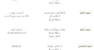 صورة نظام رجيم صحى , دايت ورياضة يكملان بعضهم