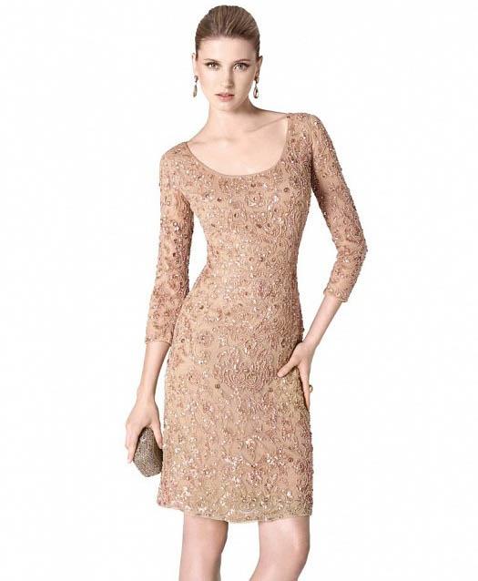 بالصور فساتين قصيرة للسهرات , احدث صيحات الفاشون لفساتين السهرة 3141 1