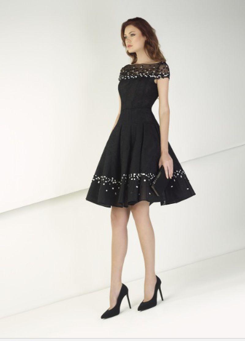 بالصور فساتين قصيرة للسهرات , احدث صيحات الفاشون لفساتين السهرة 3141 3