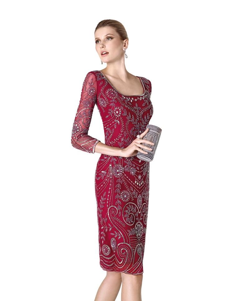 بالصور فساتين قصيرة للسهرات , احدث صيحات الفاشون لفساتين السهرة 3141 4
